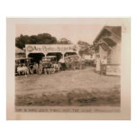 Fontanería y calefacción, Kilgore, TX 1931/32 de l Poster