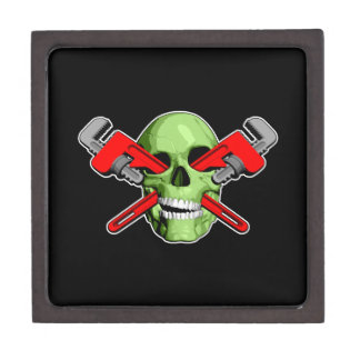 Fontanero del zombi cajas de joyas de calidad
