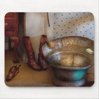 Fontanero - día del baño alfombrilla de ratón