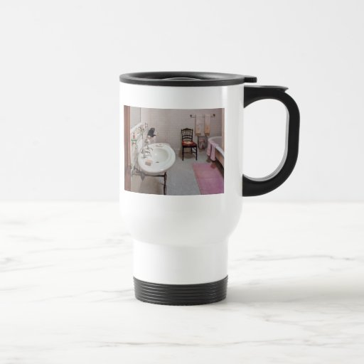 Fontanero - el cuarto de baño taza térmica