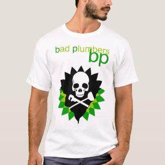 fontaneros del malo de la camiseta del punto de