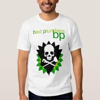 fontaneros del malo de la camiseta del punto de playeras