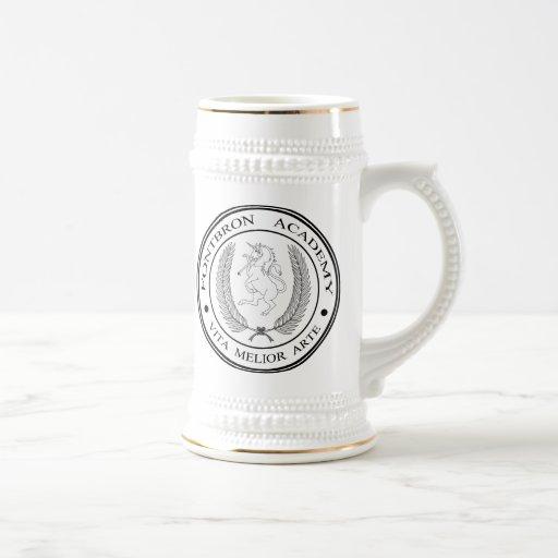 Fontbron Academy Logo Mugs