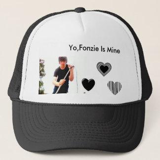 fonziee-1, heart, Yo,Fonzie Is Mine Trucker Hat