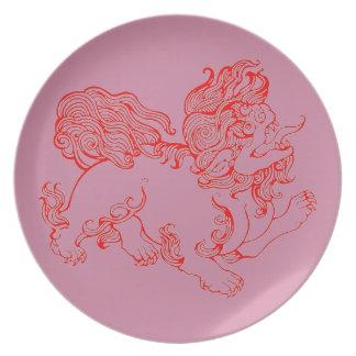 Foo Dog Plate