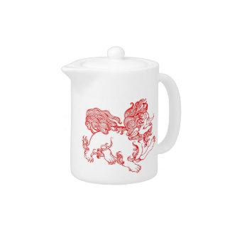 Foo Dog Teapot