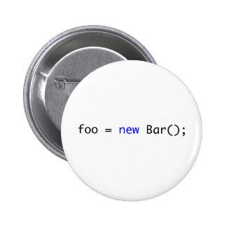 foo = nueva barra (); pin redondo 5 cm
