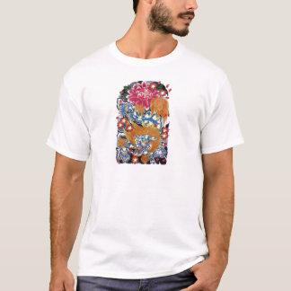 Foo & Sakura Japanese Tattoo Design T-Shirt