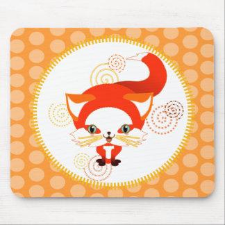 Foo the fox mouse pad