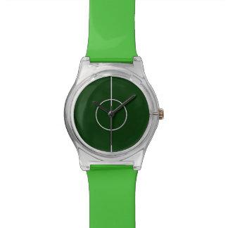 fooball soccer sports green watch