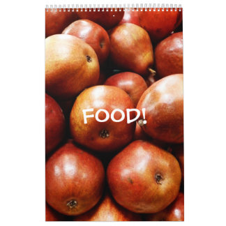 Food 12 Month Wall Calendar