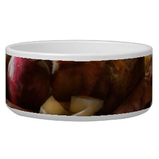 Food - A tribute to Rembrandt - Apples and Rolls Bowl