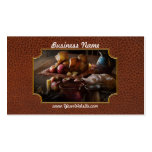 Food - A tribute to Rembrandt - Apples and Rolls Business Card Templates