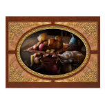 Food - A tribute to Rembrandt - Apples and Rolls Postcards