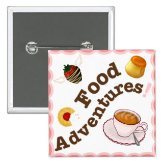 Food Adventures Button/Pin