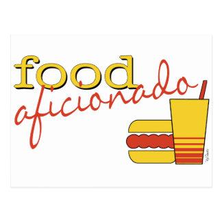 Food Afcionado Postcard