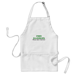 Food Allergies Please Dont Feed Me Adult Apron