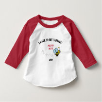 Food Allergy Alert Bumble Bee Shirt