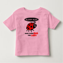 Food Allergy Alert Ladybug Shirt