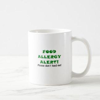 Food Allergy Alert Please Dont Feed Me Coffee Mug