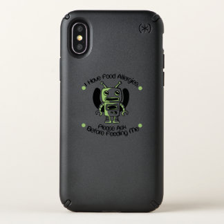 Food Allergy Allergies Awareness Robot Gifts Speck iPhone X Case