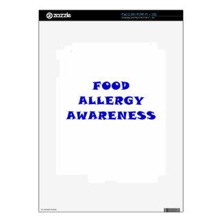 Food Allergy Awareness iPad 2 Skin