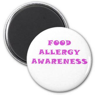 Food Allergy Awareness Magnet