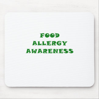 Food Allergy Awareness Mouse Pad