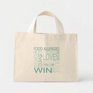 Food Allergy Awareness Tote Mini Tote Bag