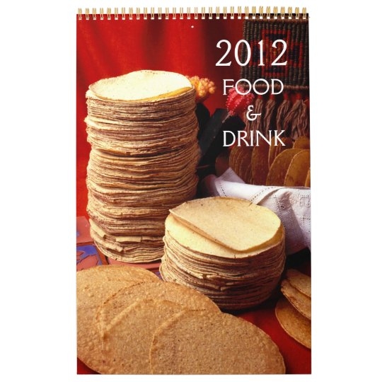 Food and Drink Calendar