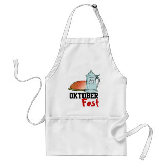 Food and drink for the  Oktoberfest Apron