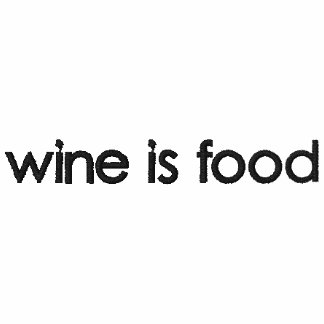 FOOD AND WINE T-SHIRTS, FOOD AND WINE TEE SHIRTS EMBROIDERED HOODED SWEATSHIRT