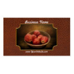 Food - Apples - A bowl of apples Double-Sided Standard Business Cards (Pack Of 100)