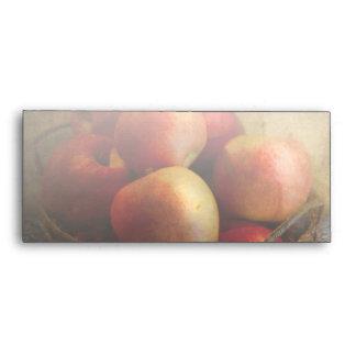Food - Apples - Apples in a basket Envelopes