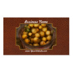 Food - Apples - Golden apples Business Card Template