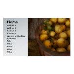 Food - Apples - Golden apples Business Card