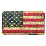 Food Art American Flag Barely There iPod Cover