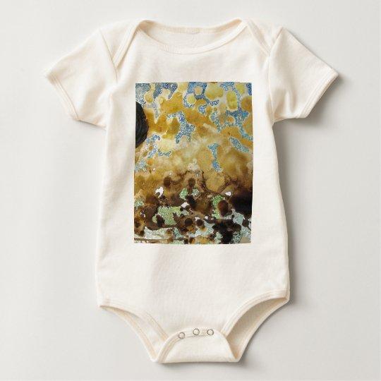 Food-Art Landscape Baby Bodysuit