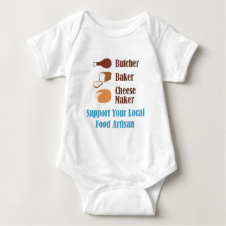 Food Artisan Baby Bodysuit