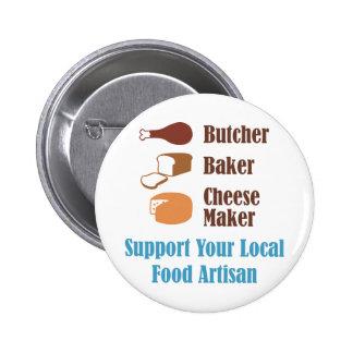 Food Artisan Buttons