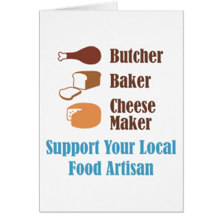 Food Artisan Card