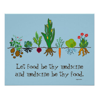 food as medicine poster