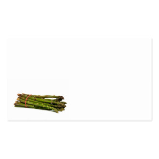 food asparagus Double-Sided standard business cards (Pack of 100)