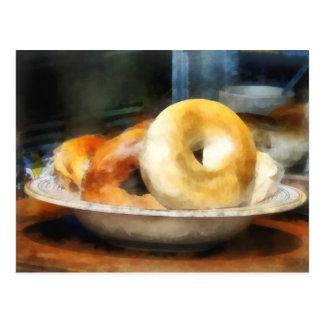 Food - Bagels for Sale Postcard