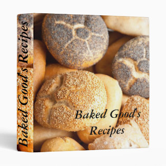 food, Baked Good's, Recipes binder