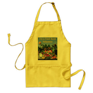 Food Bank Volunteer apron
