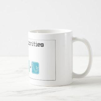 food-beer-fishing coffee mug