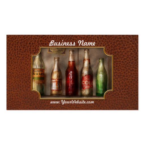 Food - Beverage - Favorite soda Double-Sided Standard Business Cards (Pack Of 100)