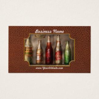 Food - Beverage - Favorite soda Business Card