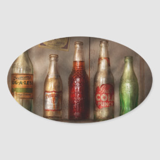 Food - Beverage - Favorite soda Oval Sticker